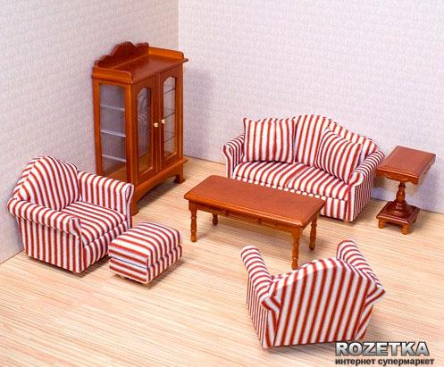 Кукольная мебель Melissa and Doug «Гостиная»