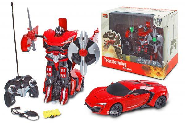 Робот-трансформер на р/у 1:14 Lykan Red