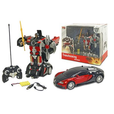 Робот-трансформер на р/у Bugatti