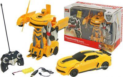 Робот-трансформер на р/у 1:22 Chevrolet Camaro Yellow