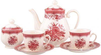 Чайный сервиз Claytan Ceramics «Виктория Пинк»