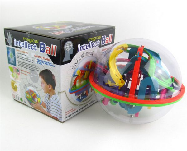 Шар-лабиринт Icoy Toys (138 шагов)