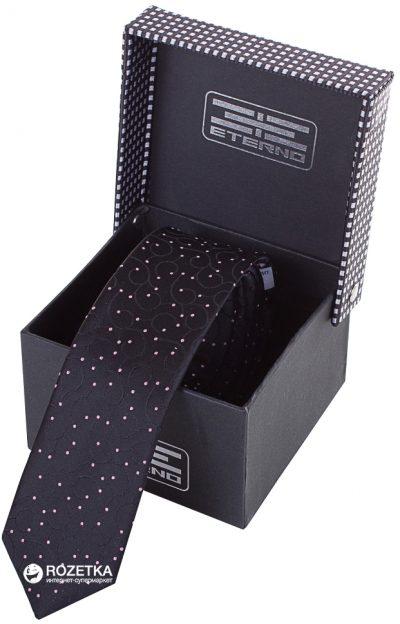 Шелковый мужской галстук ETERNO (узкий)