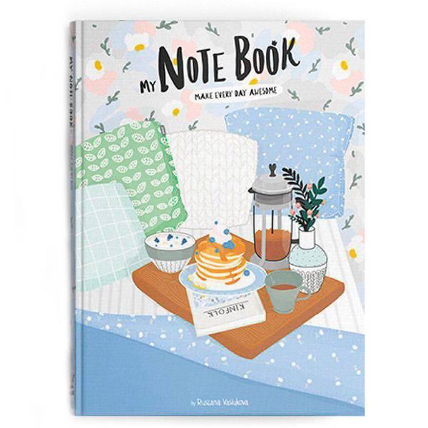 Скетчбук My Note Book «In Bed»