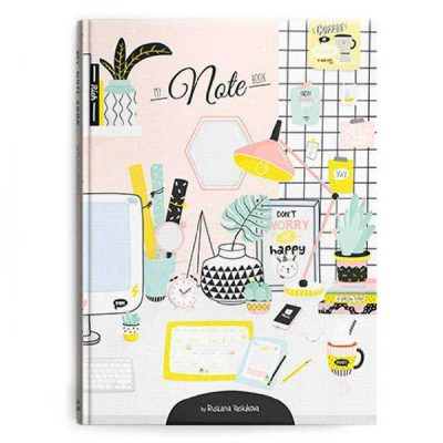 Скетчбук My Note Book «Workspace»