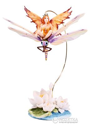 Статуэтка VERONESE «Крошка-фея, сидящая на стрекозе»