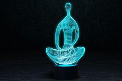 Светильник-ночник 3D «Медитация» 3DTOYSLAMP