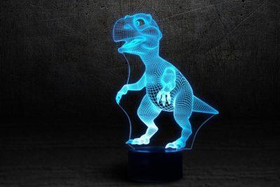 Светильник-ночник 3D «Динозаврик» 3DTOYSLAMP