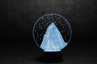 Светильник-ночник «Эверест» 3DTOYSLAMP