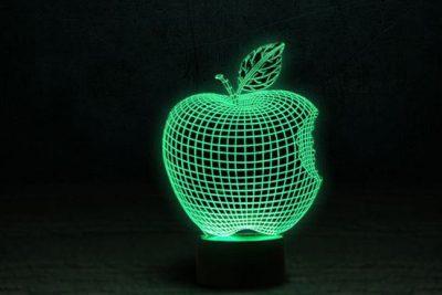 Светильник-ночник «Apple» 3DTOYSLAMP 3D