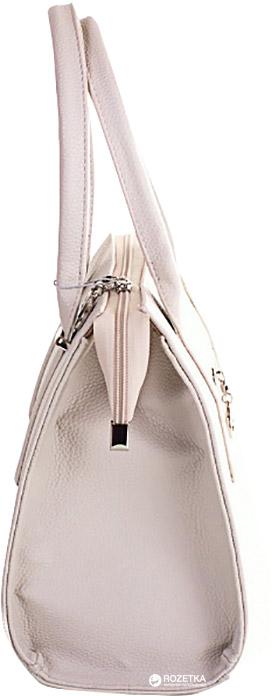 Женская сумка из качественного кожзаменителя ETERNO (ЭТЕРНО) (светло-серая)