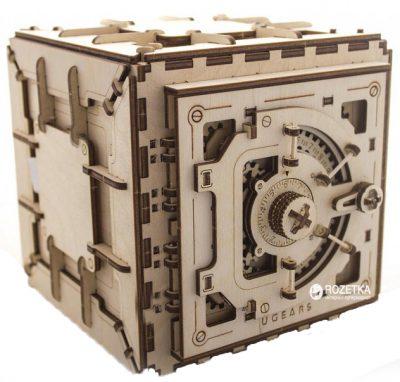 3D пазл механический «Сейф»