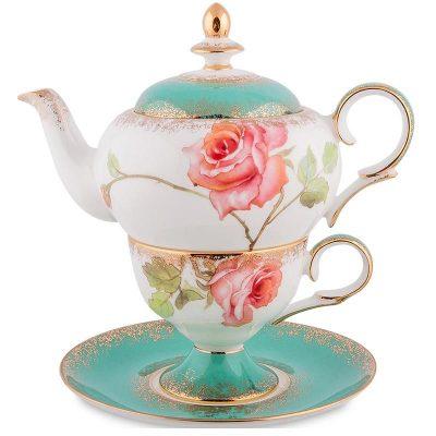 Чайный набор Pavone «Milano Rose»