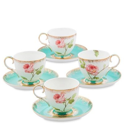 Чайный набор Pavone «Milano Rose» на четыре персоны