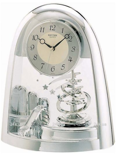 Настольные часы RHYTHM с маятником внутри