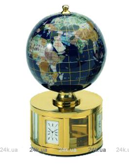 Часы настольные Hilser с глобусом