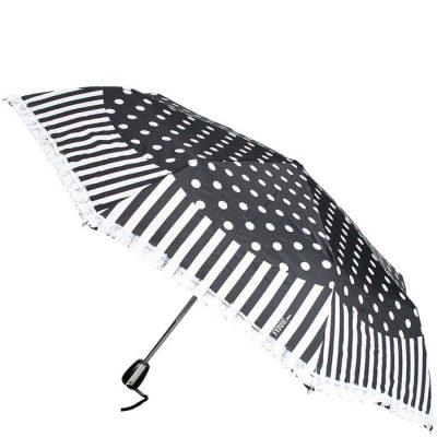 Черно-белый женский зонт Ferre