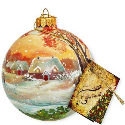 Елочный шар FaVareli «Happy Holidays»