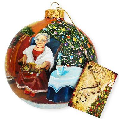 Елочный шар FaVareli «Минутка до Нового года»