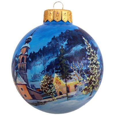 Елочный шар FaVareli «Рождественская ночь»