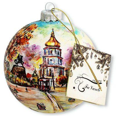 Елочный шар FaVareli «Софиевский собор»
