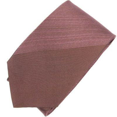 Галстук DKNY коричневого цвета