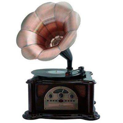 Граммофон «Синатра» вишня
