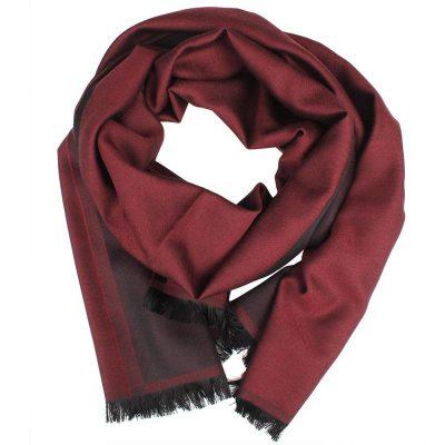 Хлопковый шейный платок Maalbi красного цвета