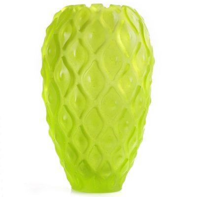 Хрустальная ваза Daum «Calicia green»