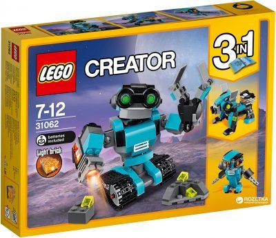 Конструктор Lego Creator «Робот-исследователь»
