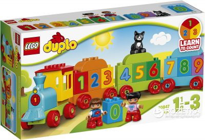 Конструктор Lego Duplo «Поезд c цифрами»