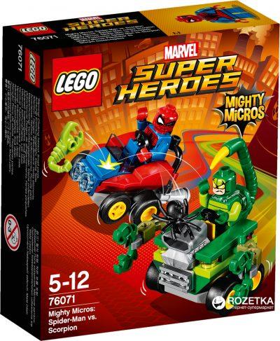 Конструктор Lego Mighty Micros «Человек-паук против Скорпиона»