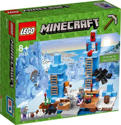 Конструктор Lego Minecraft «Ледяные шипы»