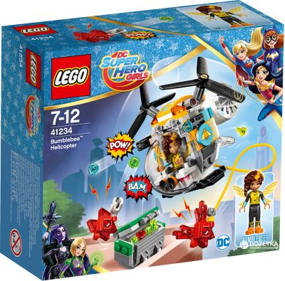 Конструктор Lego «Супергерлз: Вертолёт Бамблби»