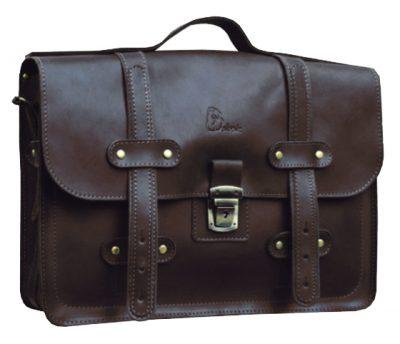 Мужской кожаный портфель Babak