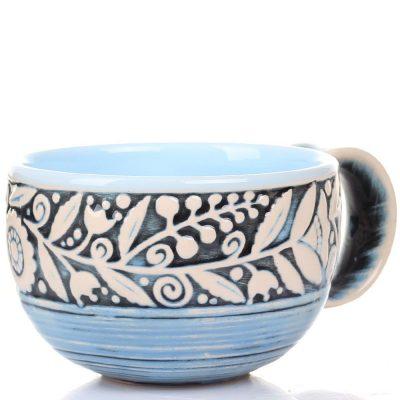 Набор из 2 чашек Manna Ceramics голубого цвета