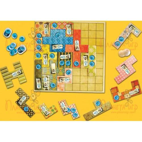 Настольная игра «Пэчворк» (Patchwork)