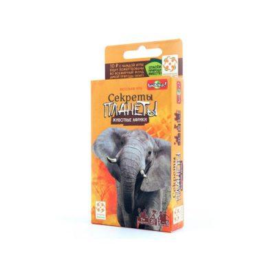 Настольная игра «Секреты Планеты. Африка»
