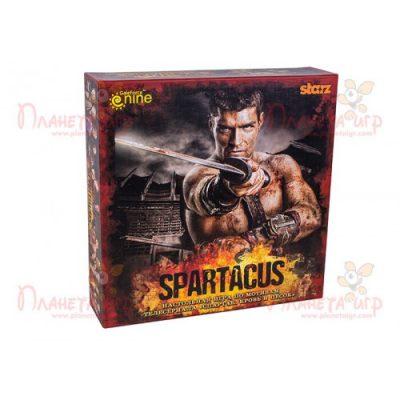 Настольная игра «Спартак (Spartacus: A Game of Blood & Treachery)» + 5 бонусных карт