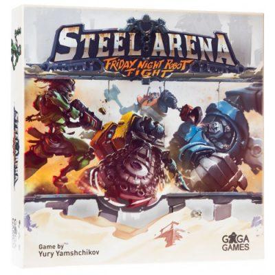 Настольная игра «Стальная Арена. Бои Роботов по Пятницам» (Steel Arena: Friday Night Robot Fight)