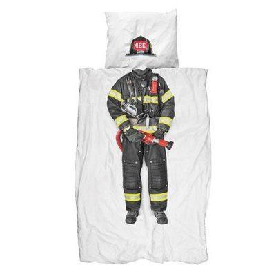 Односпальный комплект постельного белья Snurk «Firefighter»