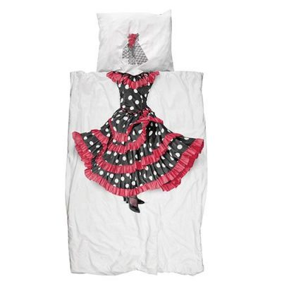 Односпальный комплект постельного белья Snurk «Flamenco»