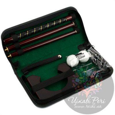Офис-гольф Z.F.Golf в кожаной сумке a-9921b-2