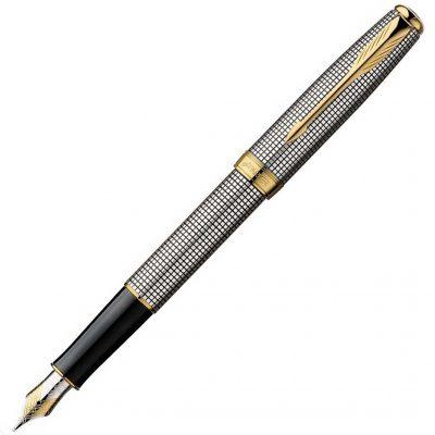 Серебряная перьевая ручка Parker «Sonnet 08 SS Cisele»