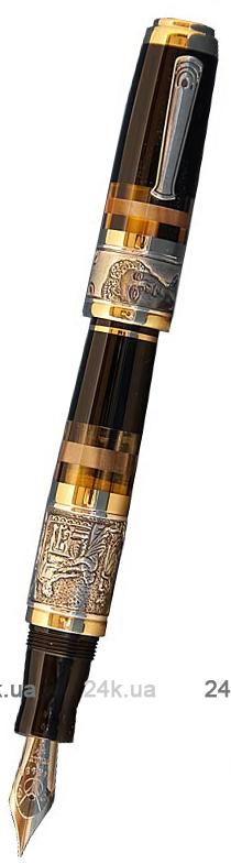 Перьевая ручка Marlen из серебра и золота