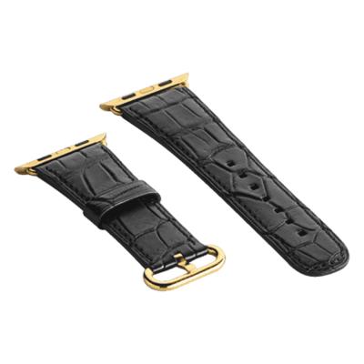 Ремень для Apple Watch Series 2 модели black alligator