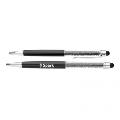 Ручка SPARK «Black Ballpen» со Swarovski