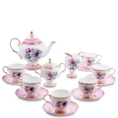 Чайный сервиз Pavone «Цветок Неаполя» на шесть персон