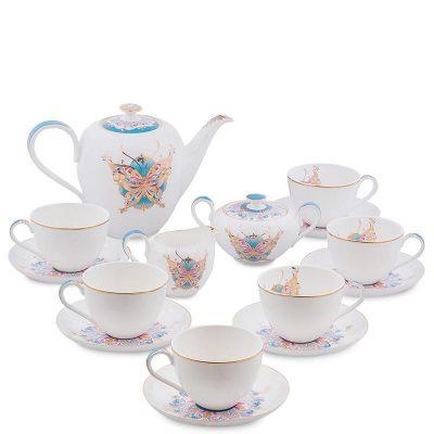 Чайный сервиз Pavone «Песня Мотылька» на шесть персон