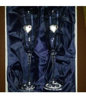 Свадебные бокалы 2*150мл(02568-12b96-150)